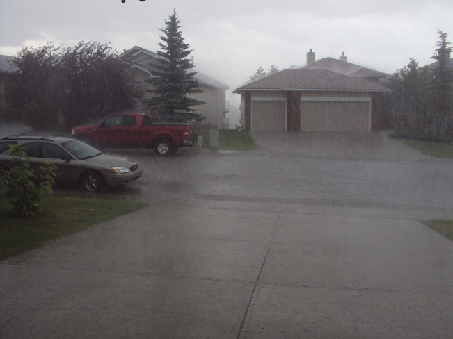 thunder storm Cochrane, Alberta