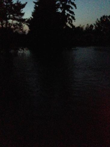 Was Someones Field..... Now New Lake Burlington, ON