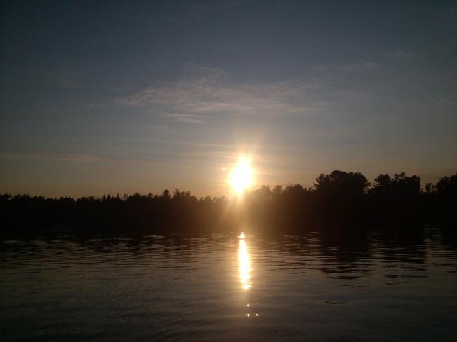 summer sunset Brantford, ON