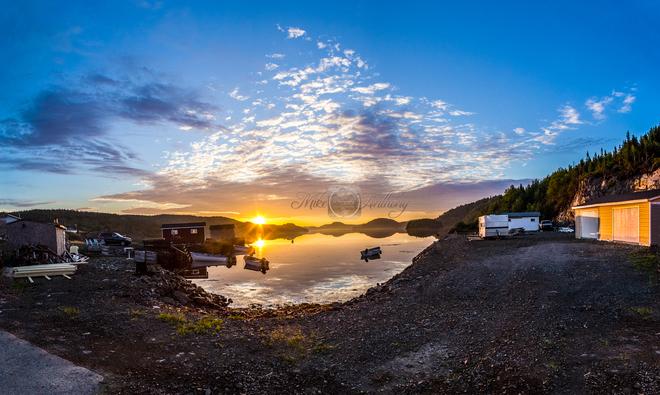 Sunrise Pilley's Island, NL