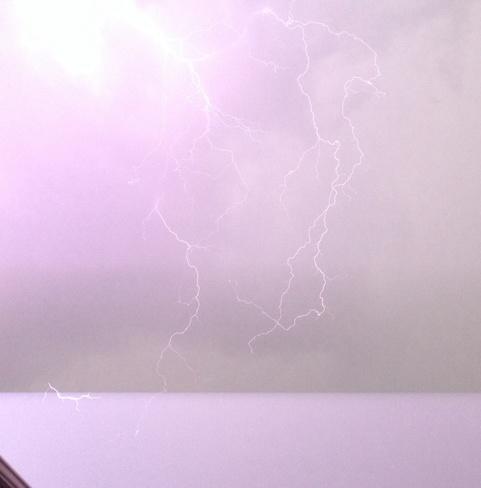Lightning In Spruce Grove Spruce Grove, Alberta Canada