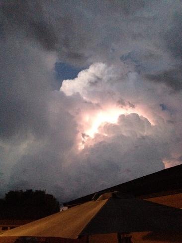 lightning Regina, Saskatchewan Canada