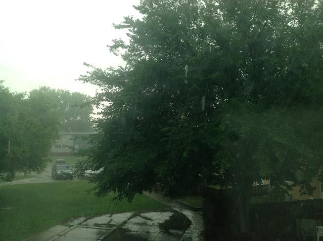Rain finally Winnipeg, MB