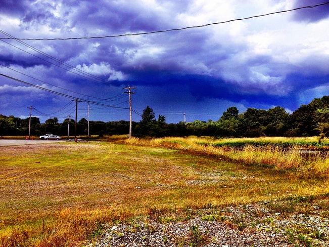 Stormy Skies Antigonish, Nova Scotia Canada