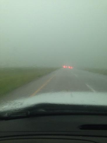 thunderstorm Swift Current, Saskatchewan Canada