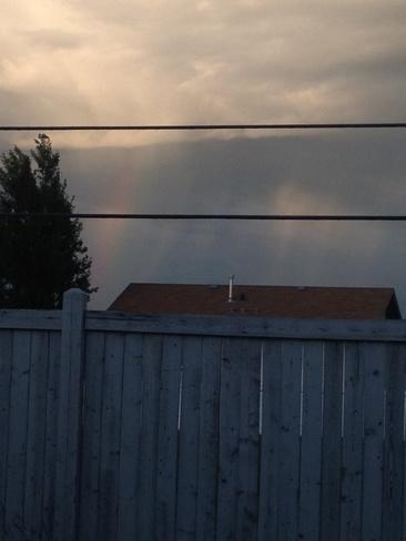 rainbow Grande Prairie, Alberta Canada