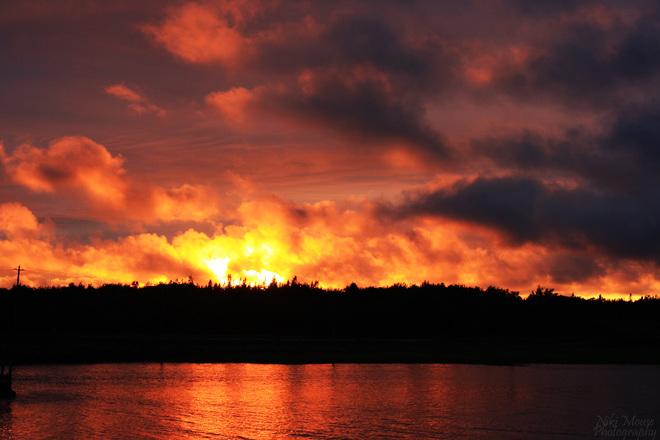 Northport Sunset Northport, Nova Scotia