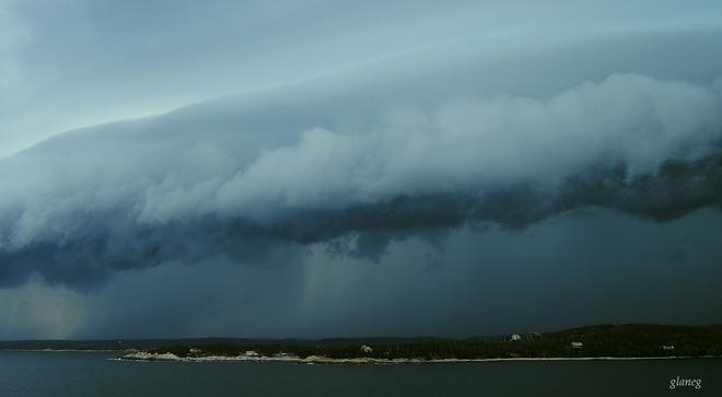 Alien Cloud Shad Bay, NS