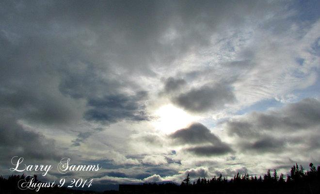 """Sun And Rain"" Grand Falls-Windsor, Newfoundland and Labrador Canada"