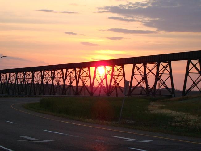 High Level Bridge Sunset Lethbridge, AB Lethbridge, AB
