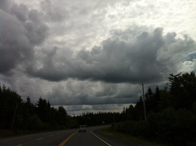 Driving Home Louisbourg, Nova Scotia Canada