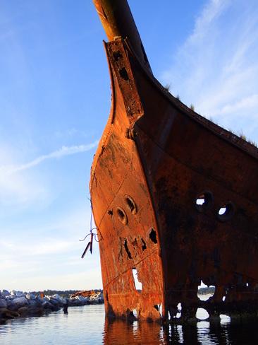 Rusty remains of the Royston Wrecks 3966-3976 Marine Drive, Royston, BC V0R 2V0, Canada