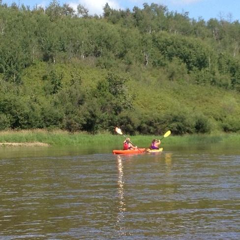 Kayaking Bonnyville,aB