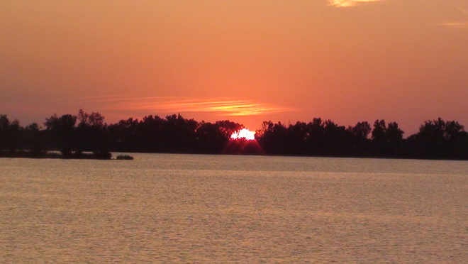 sunset at Grand Beach Manitoba tressell Grand Beach, MB