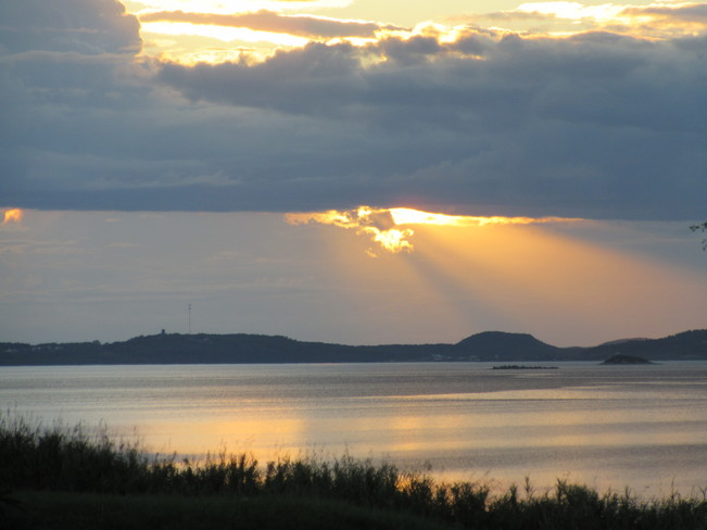 Evening Scenes Birchy Bay, NL