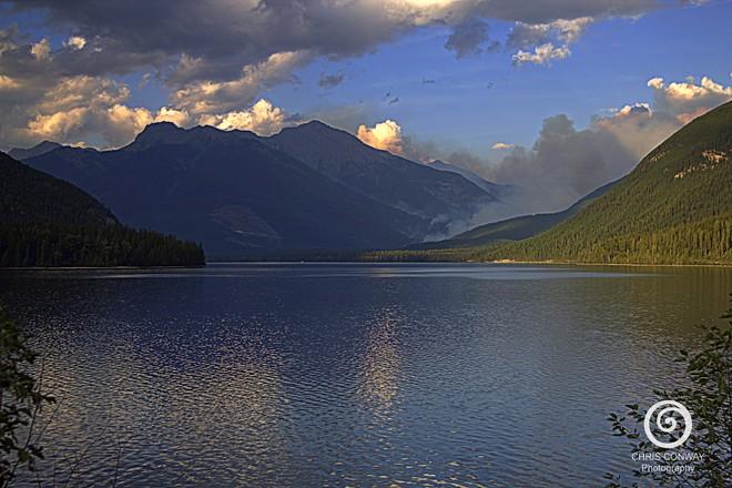 Wildfire at Whiteswan Whiteswan Lake Provincial Park, East Kootenay F, BC