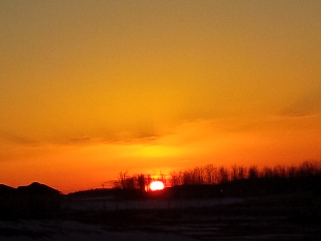 Sunset Waterloo, Ontario Canada