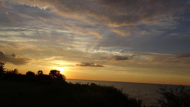 Beautiful sunrise, Ajax Memorial Park Memorial Park, Ajax, ON