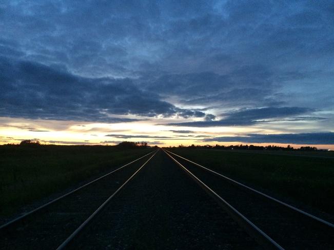 Spy Hill Sunset Spy Hill, Saskatchewan Canada