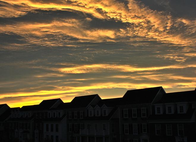 Beautiful Calgary Sunset