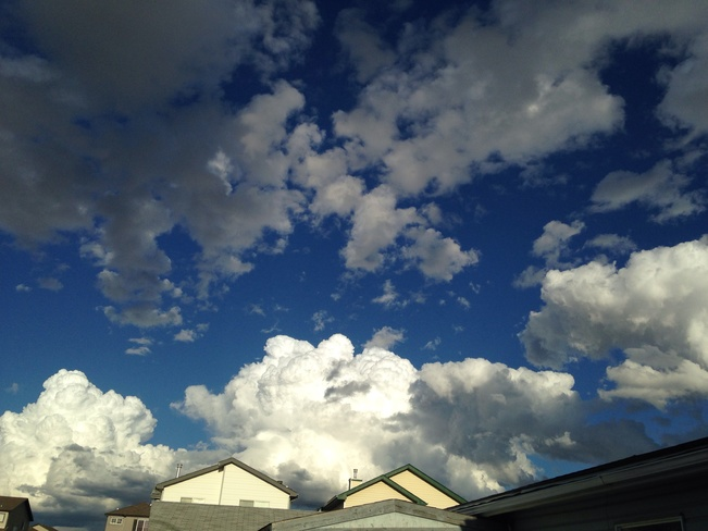 The calm before the storm Calgary, Alberta Canada