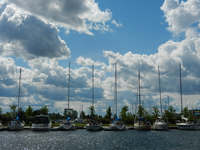 BEAUTIFUL DAY AT THE MARINA Thunder Bay, ON