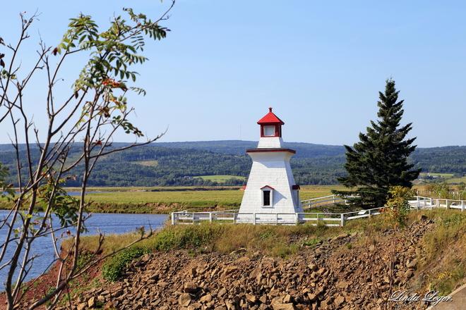 Charming Lighthouse Shepody Dam Road, Harvey, NB E4H 2M8, Canada