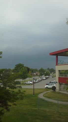 Thunderstorm Clouds Chippawa, Niagara Falls, ON