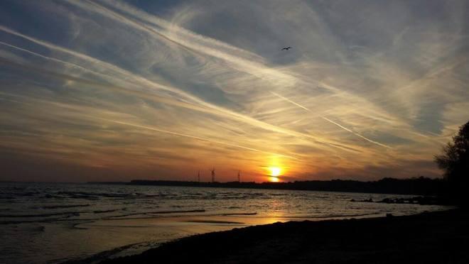 incredible sun set view - photo #40