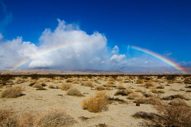 Desert Rainbow Palm Springs, CA, United States