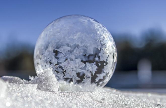 Frozen Soap Bubbles Port Elmsley, ON
