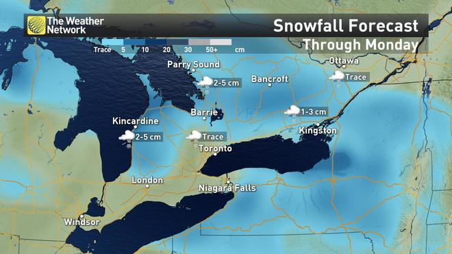News - Ontario: Shot of snow before major change, fall-like