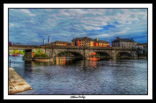 Athlone Bridge en Irlande Galway, Irlande