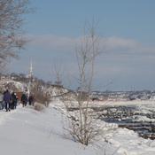 Promenade Samuel-De Champlain en hiver