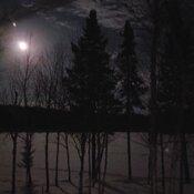 Pleine lune au Lac Plessis
