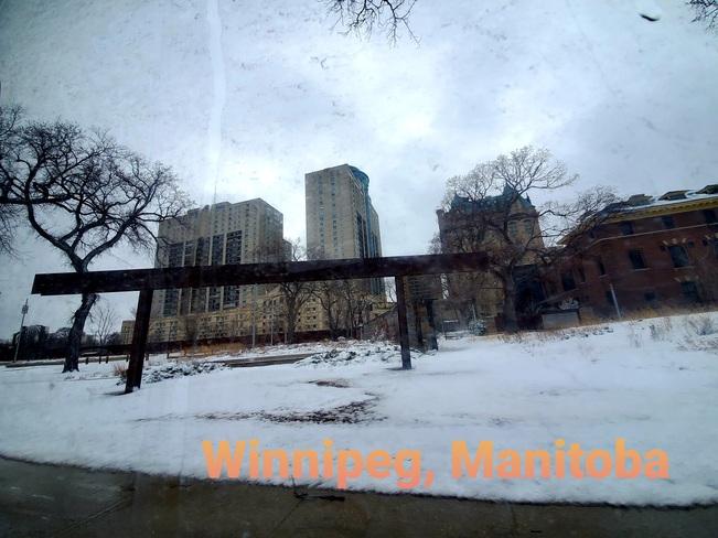 Winnipeg's April snow Winnipeg, MB