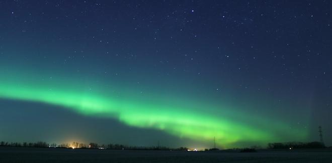 Northern Lights Red Deer, Alberta, Canada