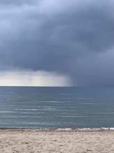 Rain on the way Port Dover, Ontario, CA