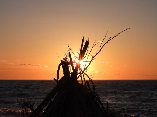 Coucher de soleil Matane, QC