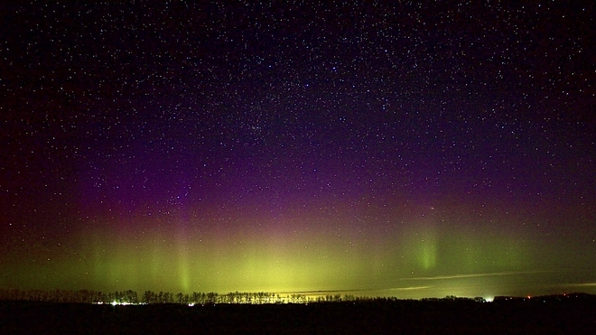 Northern Lights Lacombe, Alberta, CA