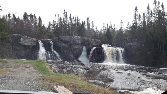 waterfalls Cox's Cove, NL