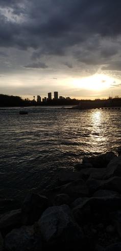 Beautiful almost sunset Calgary, AB