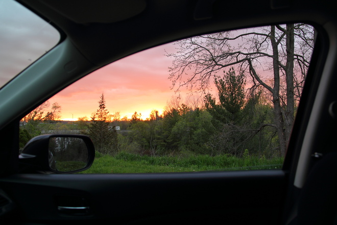 Sunday Night Sunset Woodstock, ON