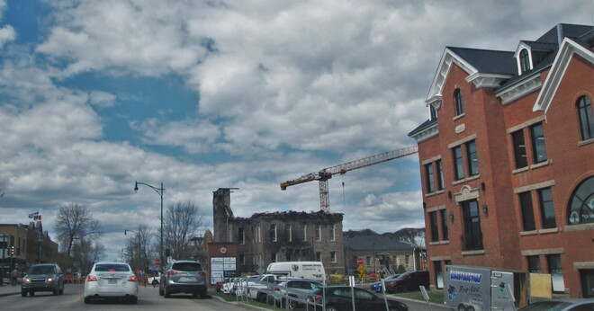 Après le feu Boulevard Saint-Joseph, Roberval, QC G8H 2L9, Canada