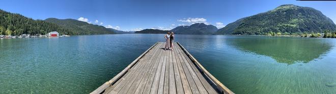 Visit to Harrison Hot Springs Hope, British Columbia, CA