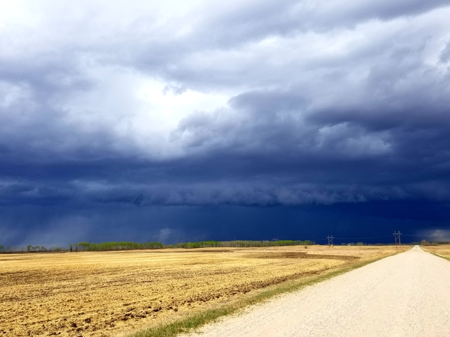 Saskatchewan storm Mattes, SK