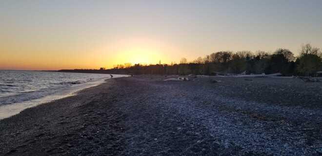 beach sunset!!! Malahide, ON