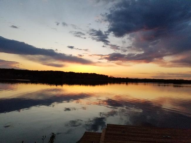 Sunset 8:26 p.m. Codes Corner, ON