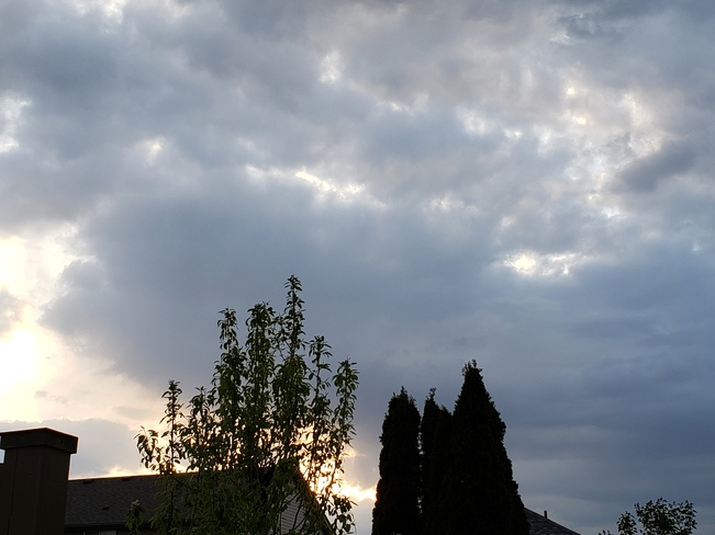 Evening Clouds Cambridge, ON