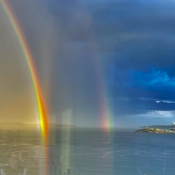 Rainbow on Halifax Harbour